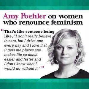 Women renounce feminism